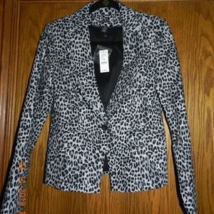 NWT Women's White House Black Market Animal Print